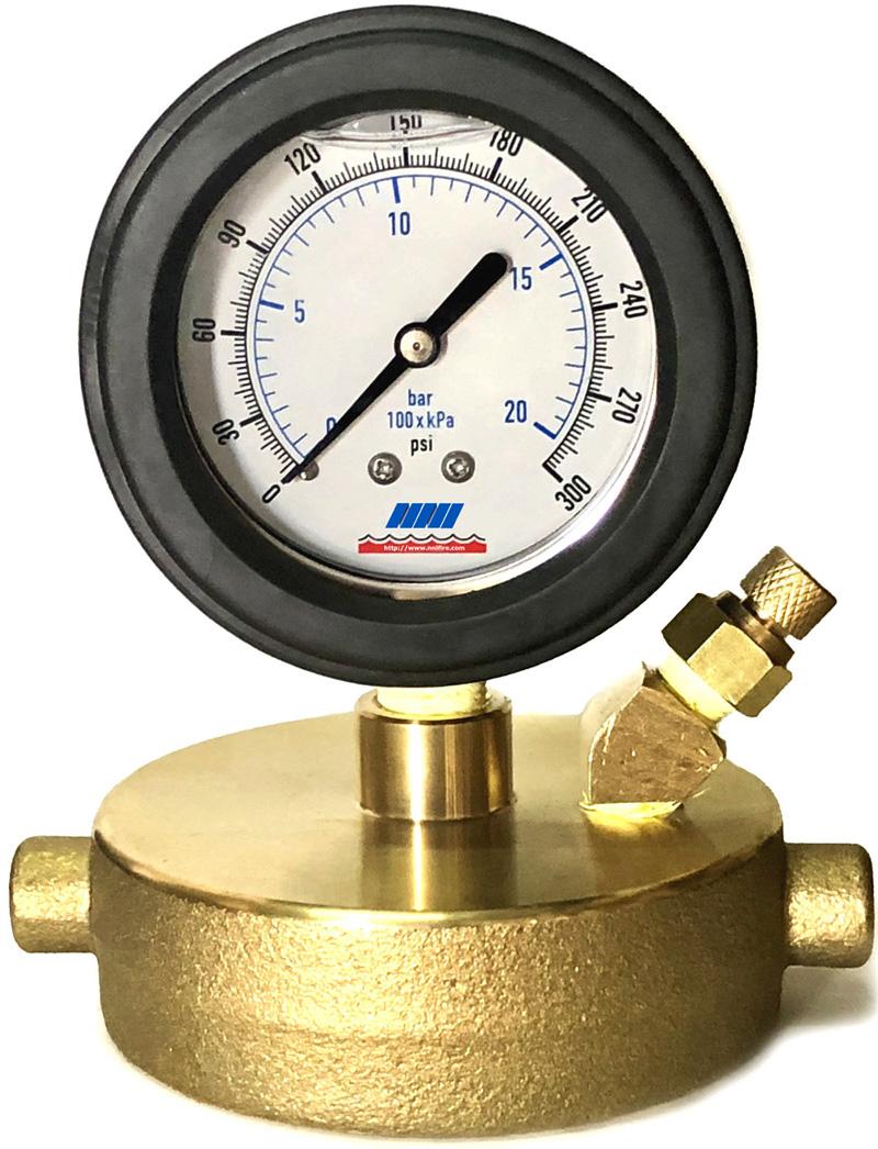 Nni quot nst fire hydrant static pressure cap gauge