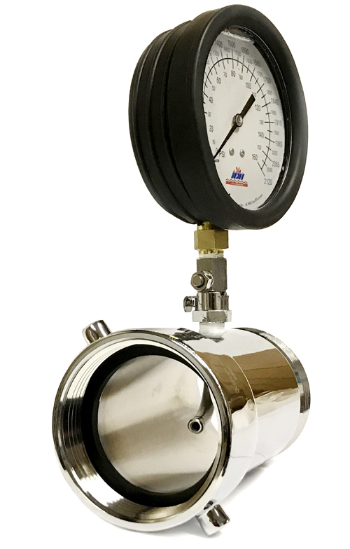 Nni inc online 2 12 nst fire hydrant in line pitot psi gpm gauge thecheapjerseys Choice Image