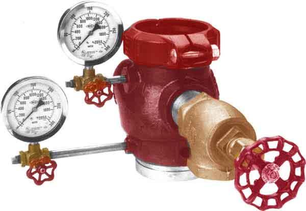 Riser Check on Fire Sprinkler Riser Check Valve
